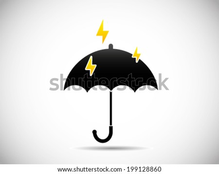 Umbrella With Thunder