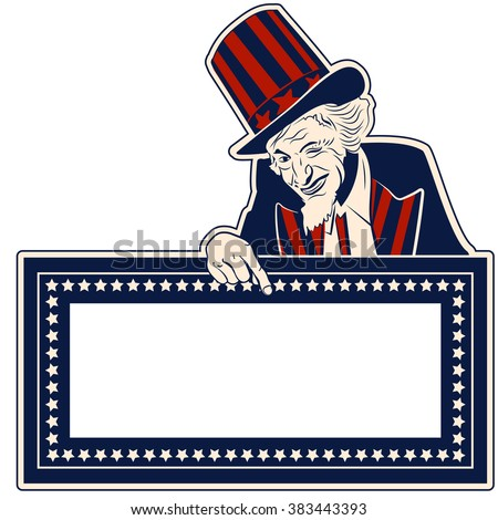 uncle sam pointing stock images royaltyfree images