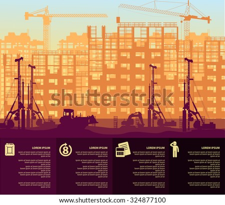 under construction 2 - stock vector