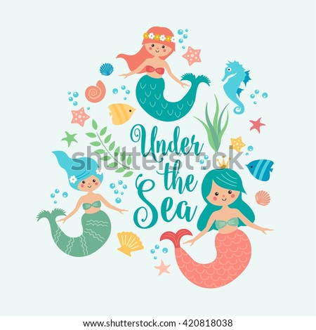 Mermaid Vector Stock Images Royalty Free Images Amp Vectors