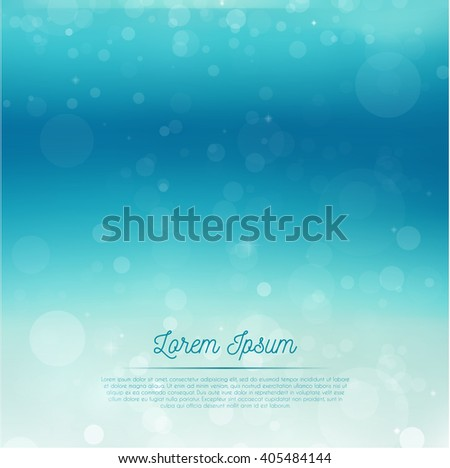 Underwater glowing background