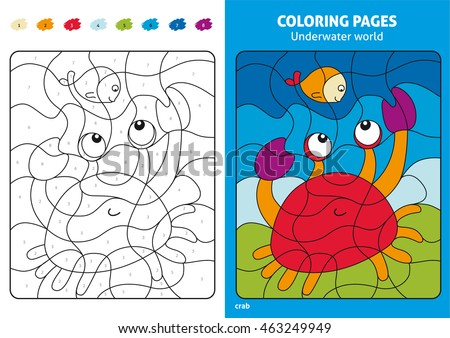 94 Printable Coloring Pages Underwater