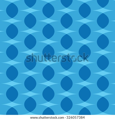undulating shapes background - stock vector