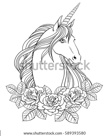 Adult Coloring Pages Roses