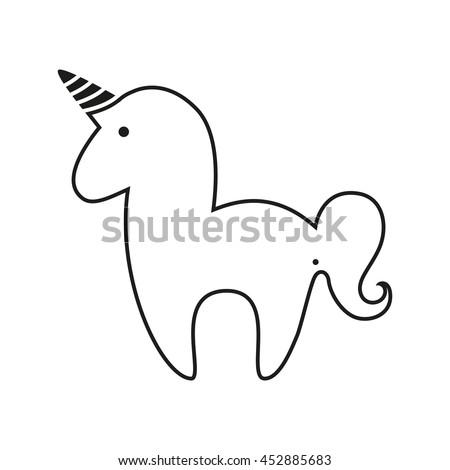 unicorn horn stock images royaltyfree images amp vectors