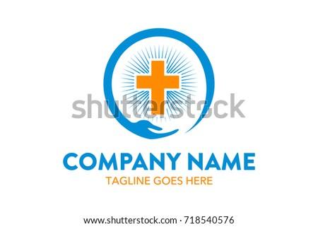unique church logo template stock vector 718540576 shutterstock