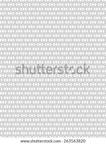 Unique gray line pattern over white background - stock vector