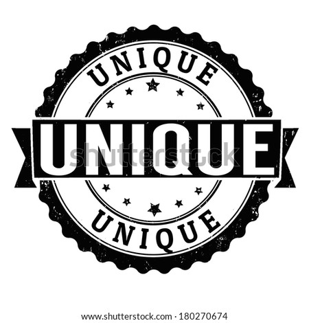 Unique grunge rubber stamp on white, vector illustration - stock vector