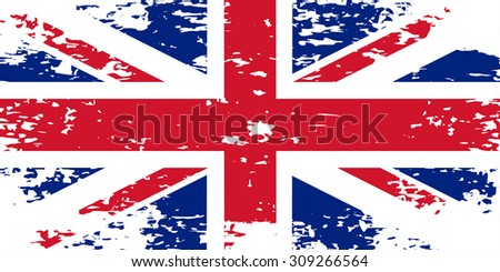 United Kingdom FlagAbstract image of the flag of Great Britain, England