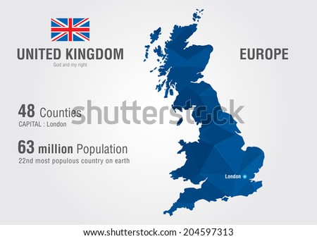 United kingdom world map england map vectores en stock 204597313 united kingdom world map england map with a pixel diamond texture world geography gumiabroncs Choice Image