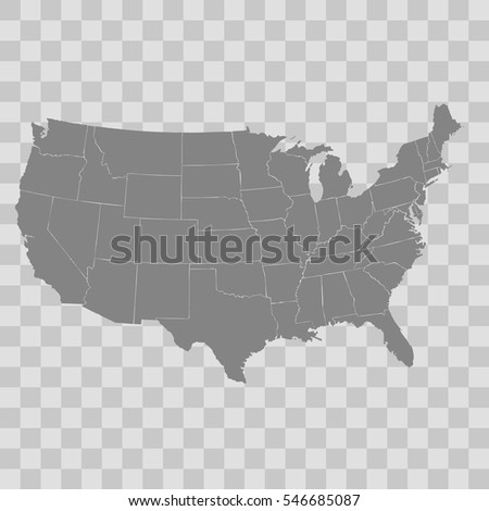 United States Map Stock Images RoyaltyFree Images Vectors - States map of the united states