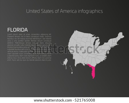 Florida State Map Stock Images RoyaltyFree Images Vectors - Us map florida state