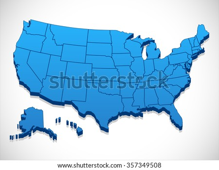 United States Map Stock Images RoyaltyFree Images Vectors - Us map outline