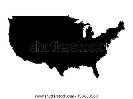 united states of america map usa map