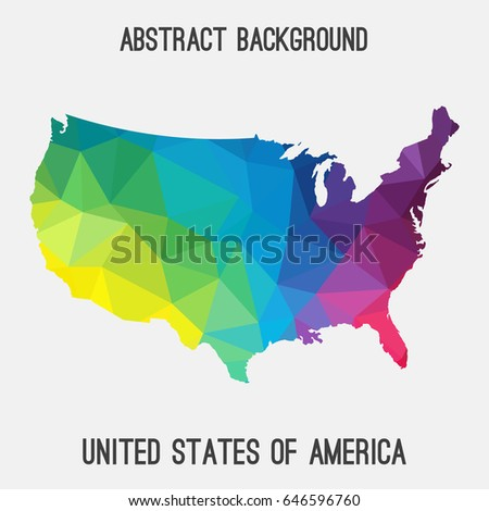 Census 2010 Map Population Density Usa Stock Vector 255153445