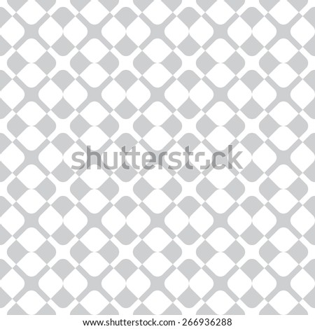 Universal different vector seamless pattern. Endless texture can be used for wallpaper, pattern fills, web page background, surface texture. Monochrome geometric ornament. Grey and white colors. - stock vector