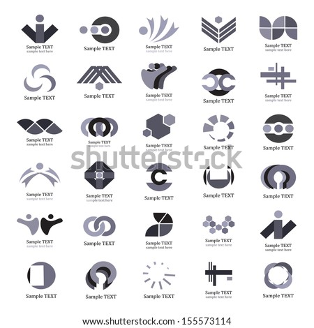 Unusual Icons Set - Isolated On White Background - Vector Illustration, Graphic Design Editable For Your Design. Unusual Logo - stock vector
