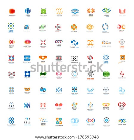 Unusual Icons Set - Isolated On White Background - Vector Illustration, Graphic Design Editable For Your Design - stock vector