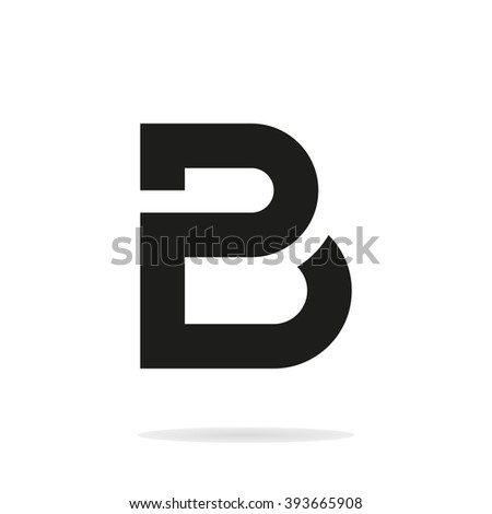 Unusual Minimalistic Monogram P And B. Business Logo Template. P And B Logo.