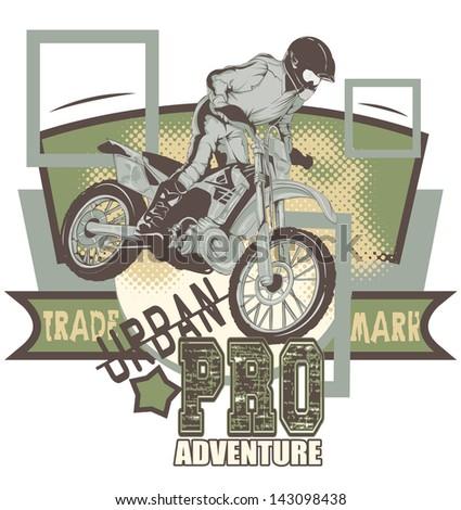 Urban adventure - stock vector