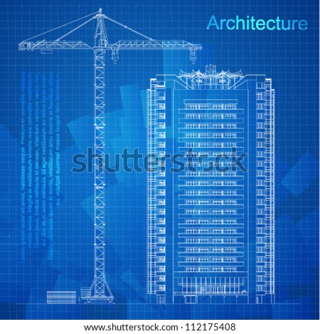 Building Blueprint Stock Images Royalty Free Images Vectors
