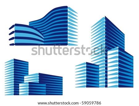 Urban icons - stock vector
