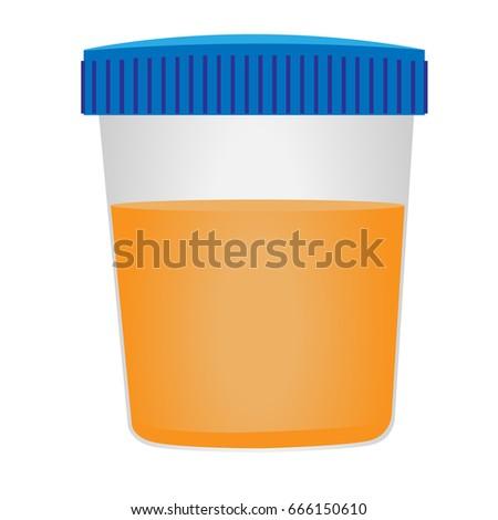 urinalysis medical examination stock vector 666150610 shutterstock rh shutterstock com