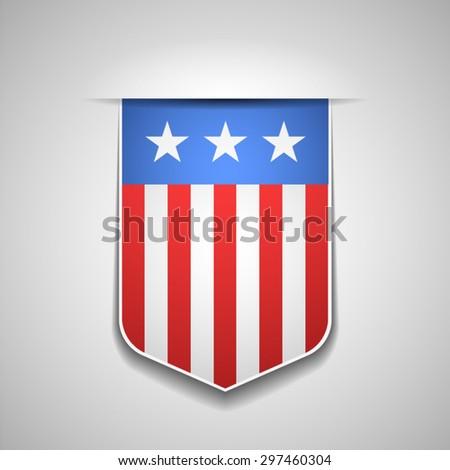 USA - stock vector