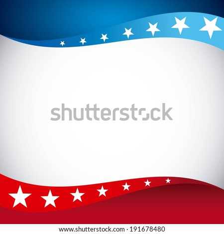 USA background design, vector illustration