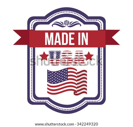 usa emblematic seal design, vector illustration eps10 graphic