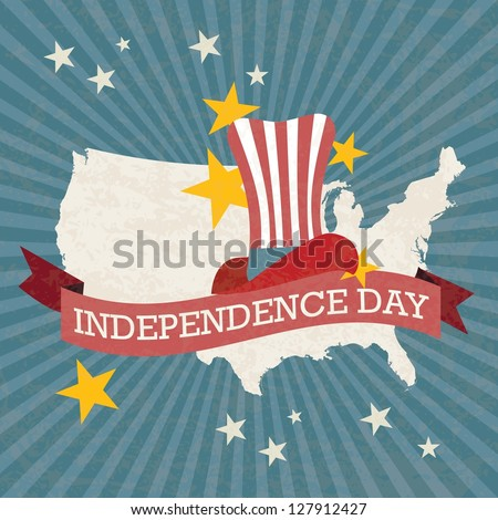 United States Of America Stock Images RoyaltyFree Images - Large image map of us vector labels