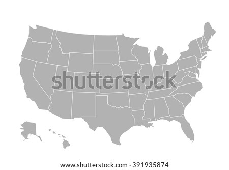 Usa Stock Images RoyaltyFree Images Vectors Shutterstock - Free usa map vector