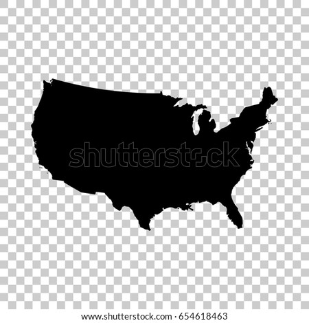 Usa Map Transparent Background Stock Images RoyaltyFree Images - Us map transparent background