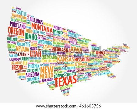 us word map