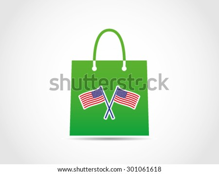 USA National Budget Expenses - stock vector