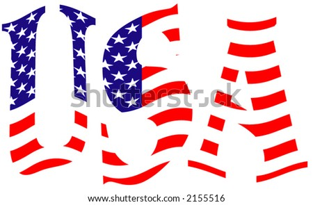 USA - vector illustration