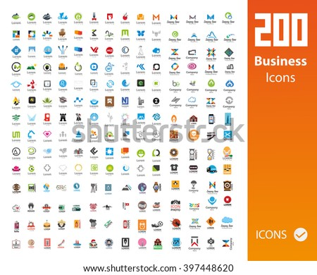 Usable Business icons - stock vector