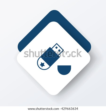 Usb Cable Icon Stock Vector 281990171 - Shutterstock