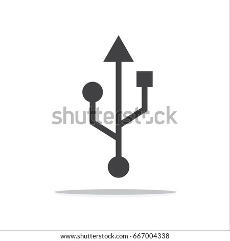 usb symbol stock images royaltyfree images amp vectors