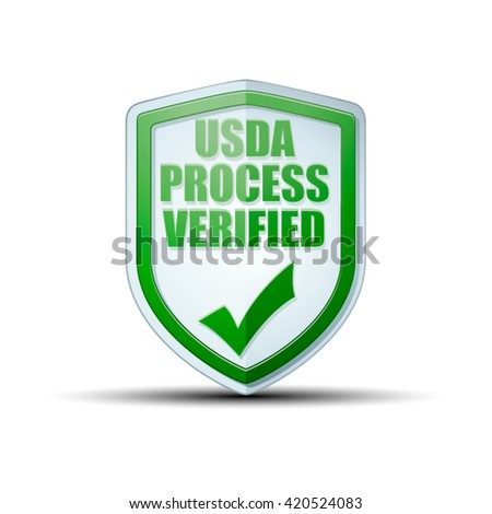 USDA Process Verified shield sign