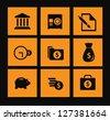 Useful Finance icon set - stock vector