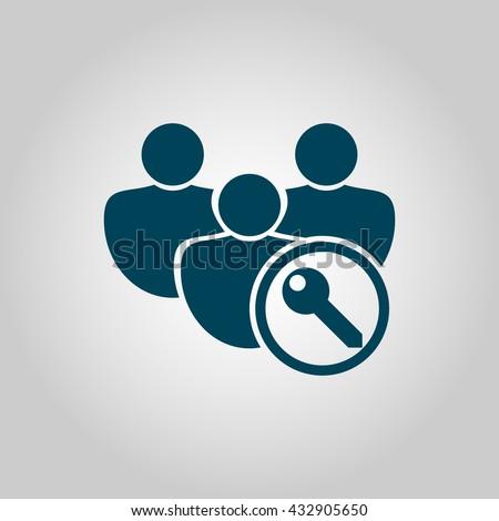 User Access Icon, User Access Eps10, User Access Vector, User Access Eps, User Access App, User Access Jpg, User Access Web, User Access Flat, User Access Art, User Access Ai, User Access Icon Path - stock vector