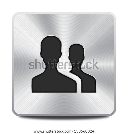 User group icon - stock vector