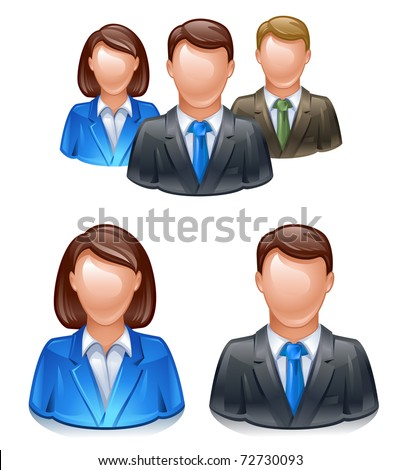 user group network icon - stock vector