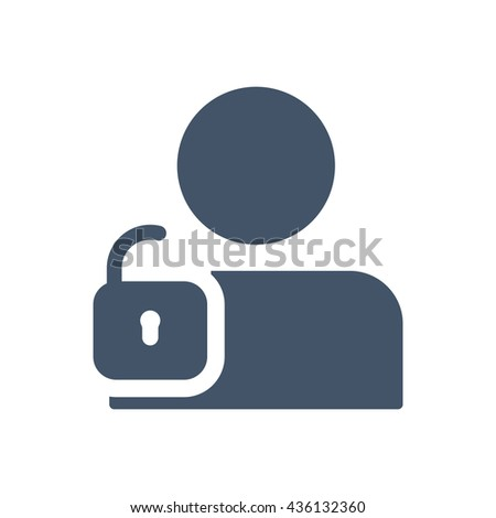 User Login Authenticate Icon Vector Flat Stock Vector 546384205 ...