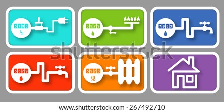 Meter Icon Utility Icons With Meters