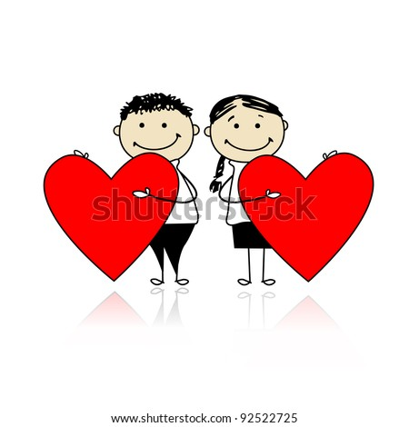 valentines day heart couple - photo #3