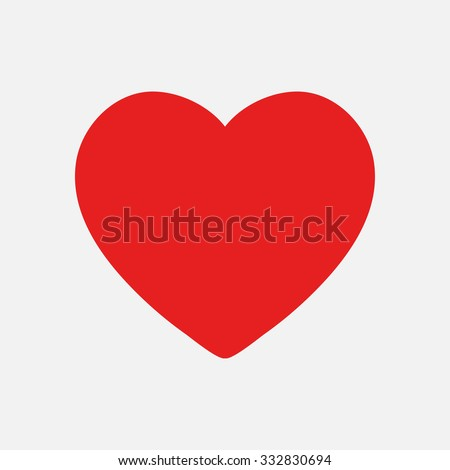 Valentine heart simbol. - stock vector
