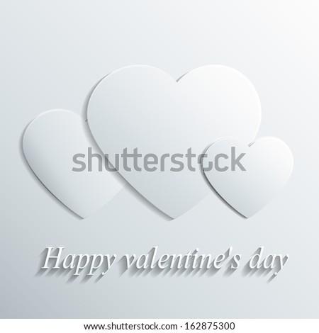 valentine's background - stock vector