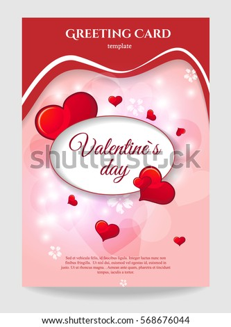 Greeting Card Template Stock Images, Royalty-Free Images & Vectors